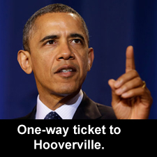 One-way ticket to Hooverville
