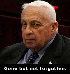 Sharon: Gone but not forgotten.