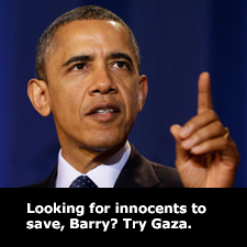 Looking for innocents to save, Barry?