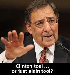 Clinton tool ... or just plain tool?