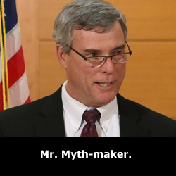 Mr. Myth Maker.