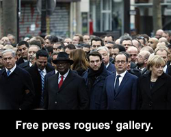 Free speech rogues' gallery