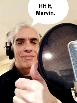 Hit it, Marvin