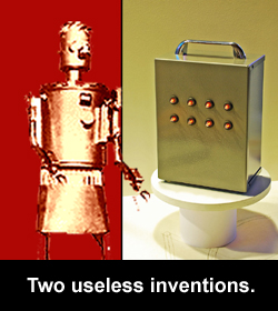 Two useless inventions