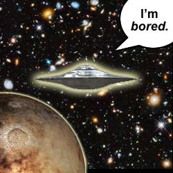 I'm bored.