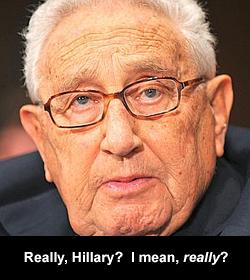Really, Hillary? I mean, really?