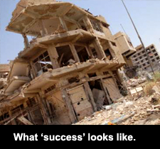"""What """"success"""" looks like."""