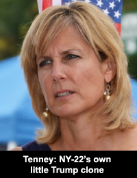 Tenney: NY-22's own little Trump clone