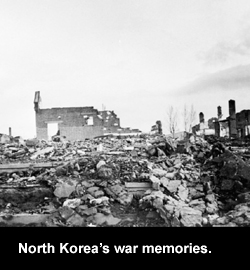 North Korea's war memories