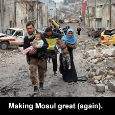 Making Mosul great (again).