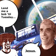 Lend me a bob 'til Tuesday