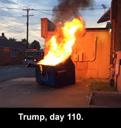Trump, day 110.