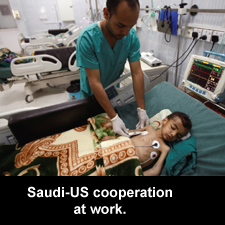 Saudi-US cooperation at work