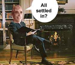 All settled in?
