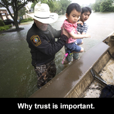 Why trust is important.