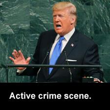 Active crime scene