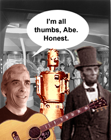 I'm all thumbs, Abe. Honest.