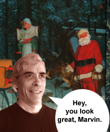 Hey, you look great, Marvin.