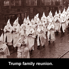 Trump family reunion