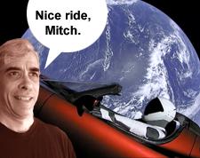 Nice ride, Mitch.
