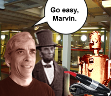 Go easy, Marvin.