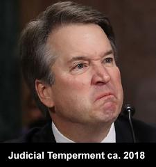 Judicial temperment ca. 2018