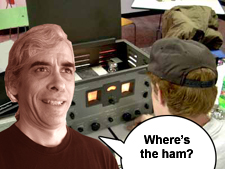 Where's the ham?