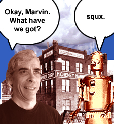Okay, Marvin ... What have we got?