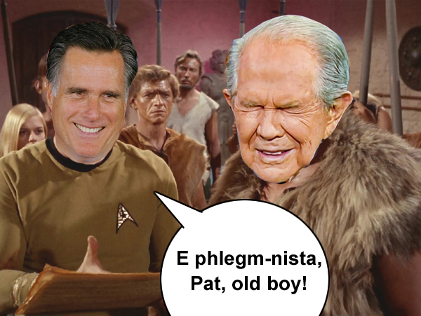 E phlegm-nista, Pat, old boy!